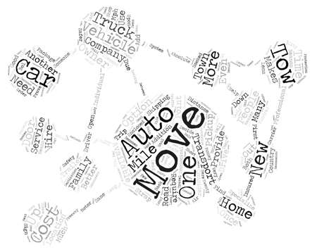 safer: Auto Transport Companies Provide Consumers Better Options text background word cloud concept Illustration