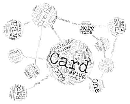 became: credit card text background word cloud concept
