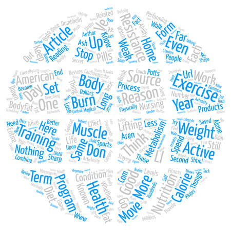 Exercise Why YOU Should Do It text background word cloud concept