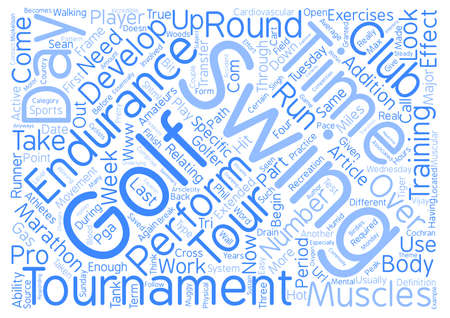 Finish Your Round of Golf with Birdies text background word cloud concept
