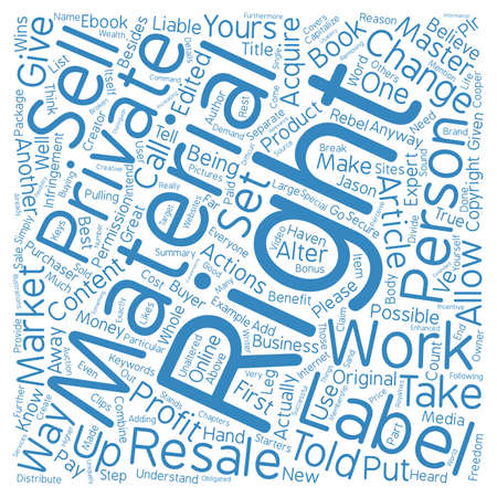private cloud: Everyone Wins With Private Label Rights Word Cloud Concept Text Background