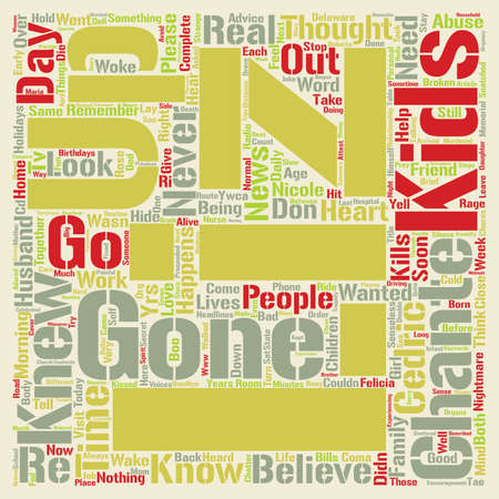 Gone Too Soon Kids Murdered In A Senseless Rage text background word cloud concept