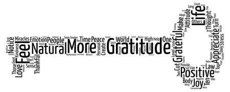 top ten: Gratitude Top Ten Reasons to Adopt the LAW of GRATITUDE text background wordcloud concept Illustration