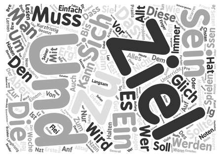 Die Kunst des bens text background wordcloud concept