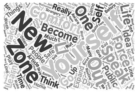 decency: Decency text background word cloud concept Illustration