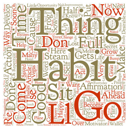 re do: Do You Think You re in Control of Your Life text background word cloud concept