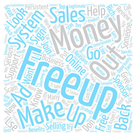 Freeup Review great Opportunity May Not Be For You text background wordcloud concept Illustration