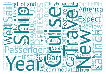 admirer: cruise ship reviews Word Cloud Concept Text Background