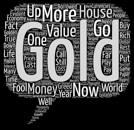 金は黄金のテキスト背景 wordcloud コンセプトです。