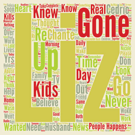Gone Too Soon Kids Murdered In A Senseless Rage text background wordcloud concept