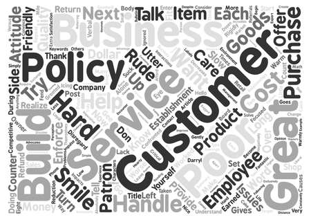 suck: Does Your Customer Service Suck Word Cloud Concept Text Background