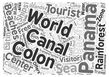 unrivalled: GO WILD IN PANAMA text background word cloud concept