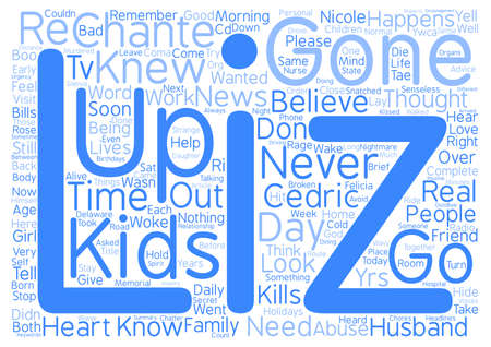 Gone Too Soon Kids Murdered In A Senseless Rage Word Cloud Concept Text Background Illustration