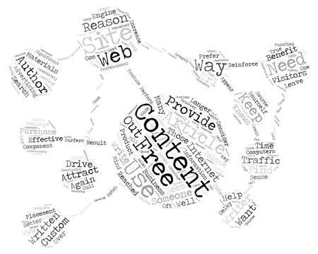 article: Free Article Use on Your Web Site text background word cloud concept Illustration