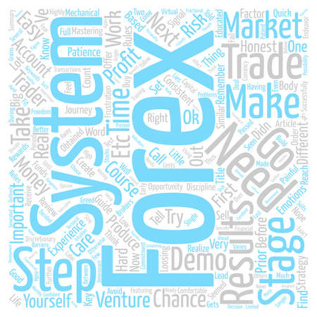 traders: Forex Course A Quick Forex Guide for Traders text background word cloud concept