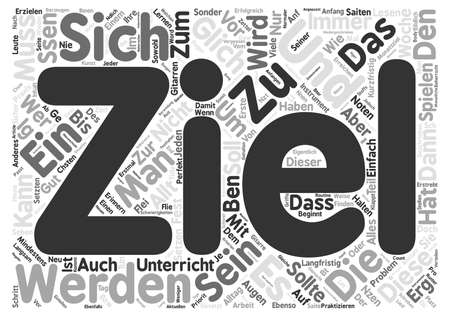 Die Kunst des bens Text Background Word Cloud Concept 向量圖像