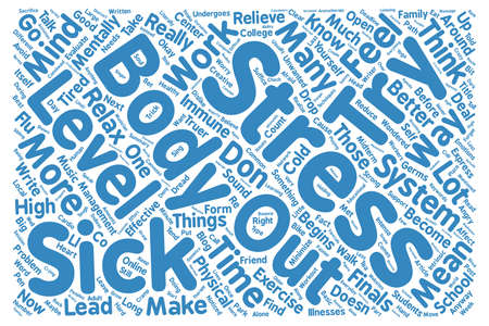 Don t Stress It text background wordcloud concept