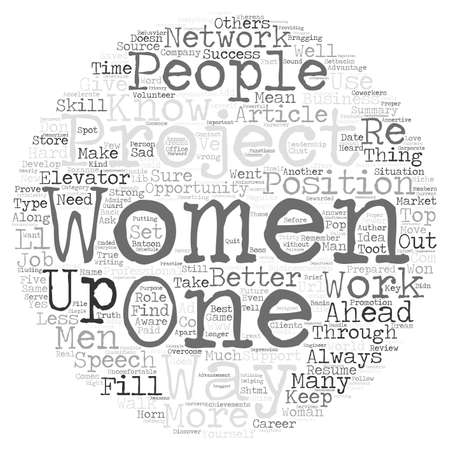 accelerate: Five Ways for Women to Accelerate Their Career text background word cloud concept