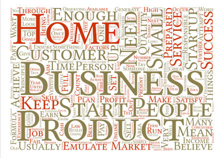 achieved: How To Be A Business Success Word Cloud Concept Text Background