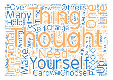 How To Choose To Be Happy text background word cloud concept Illustration