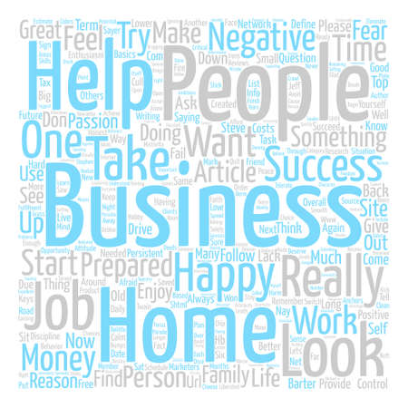 Home Business Happiness text background word cloud concept