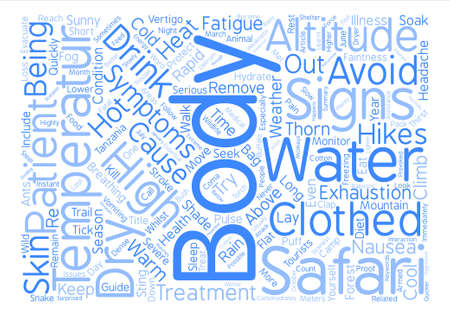 whilst: Health Issues Whilst On Safari text background wordcloud concept