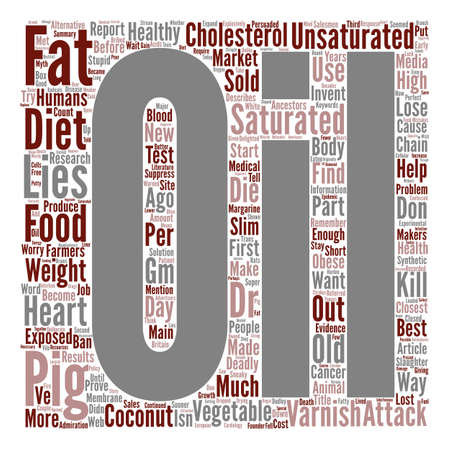 exposed: Healthy Diet Lies Exposed Part I Word Cloud Concept Text Background Illustration