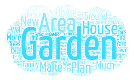 How to Make the Most of Your Garden text background word cloud concept