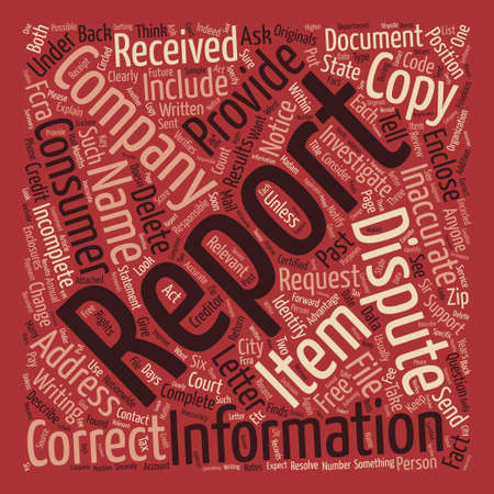 getting better: How To Improve Your Credit Report text background word cloud concept Illustration