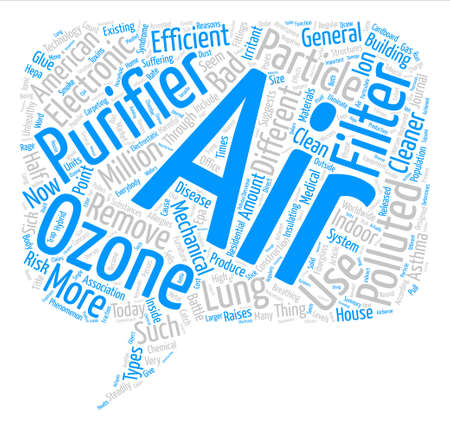 suggests: How Bad Is The Air In Your House Word Cloud Concept Text Background