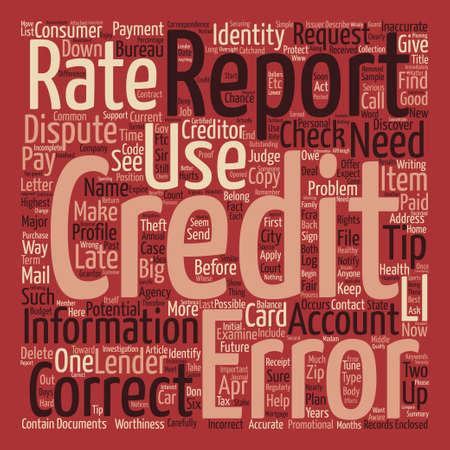 How Healthy Is Your Credit text background wordcloud concept Illusztráció