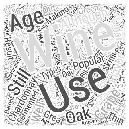 An Introduction To Chardonnay Word Cloud Concept