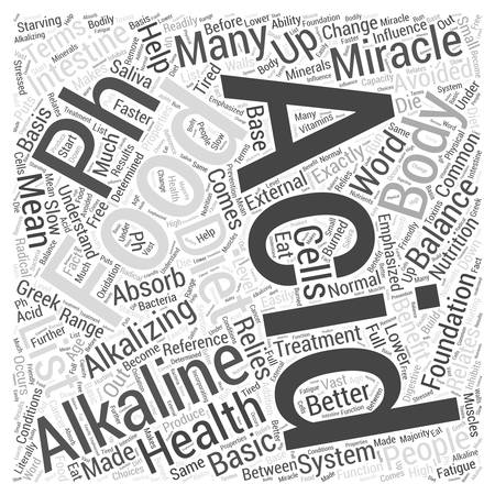 Acid and alkaline foods in the pH miracle diet Word Cloud Concept Stock fotó - 72410738