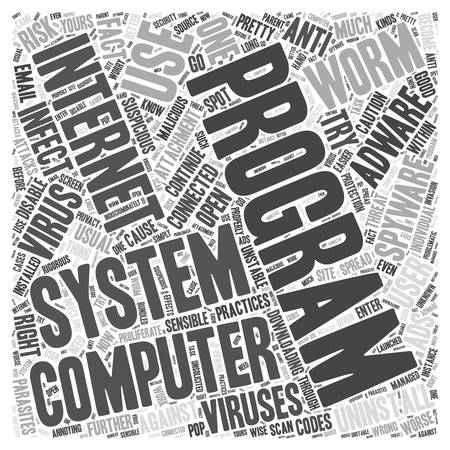 adware spyware desinstalar Word Cloud Concept