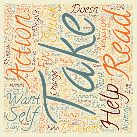 tried: Are You Stuck In Your Life text background wordcloud concept