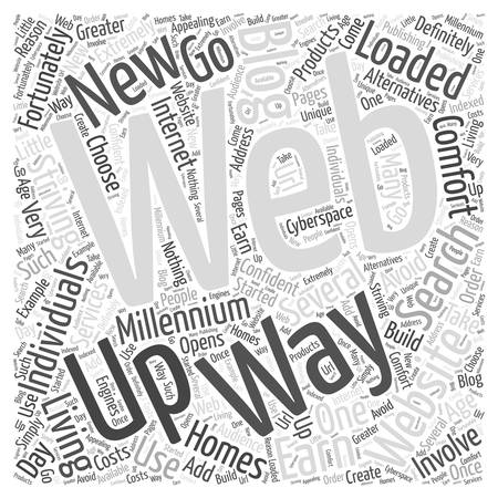 add url to search engines Word Cloud Concept