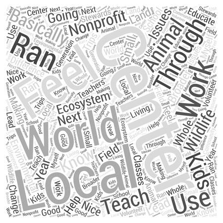 animal science Word Cloud Concept