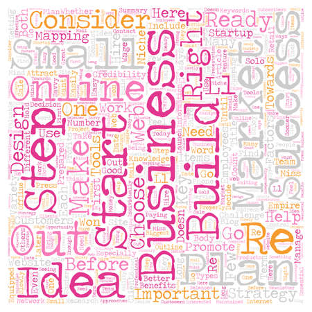 Are You Ready For A Successful Online Business text background wordcloud concept.