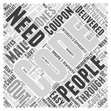 Mejores códigos de cupones de compra Palabra Nube Concepto Foto de archivo - 72483956
