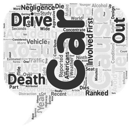 among: Car Accidents wordcloud concept