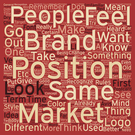 Brand Your Business wordcloud concept