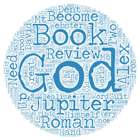 Book Review Alex Webster And The Gods By David Dent text background wordcloud concept