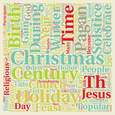 Christmas Article 48 text background wordcloud concept