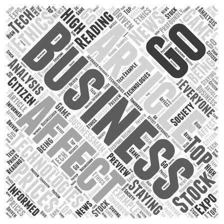 articles: business articles Word Cloud Concept
