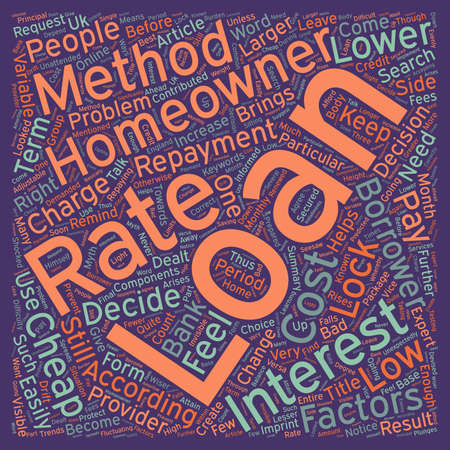 contributed: Cheap homeowner loans create your own package text background wordcloud concept Illustration