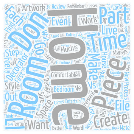 Don t Wait for a Mate Feather Your Nest Now Part 1 text background wordcloud concept Illustration