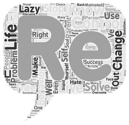 re do: Do You Think You re in Control of Your Life text background wordcloud concept