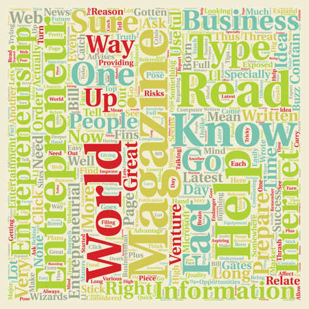 entrepreneur magazine 1 text background wordcloud concept