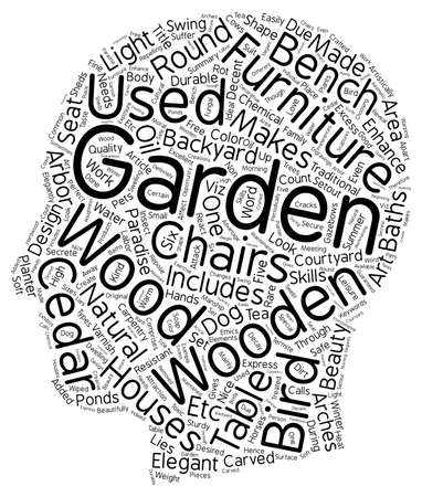 Enhance the elegance of your garden with beautiful Carpentry text background wordcloud concept