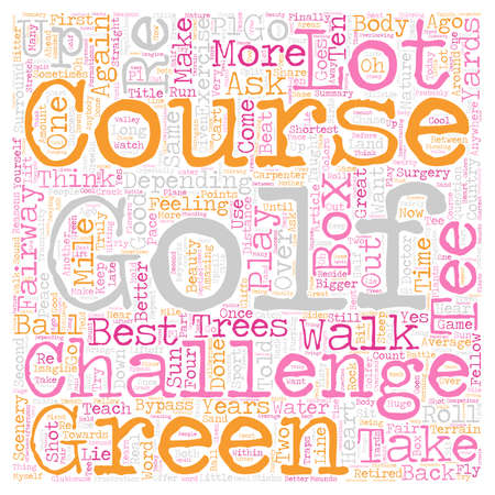 Four Good Reasons To Take Up Golf As A Sport text background wordcloud concept